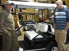 refurbished golf carts