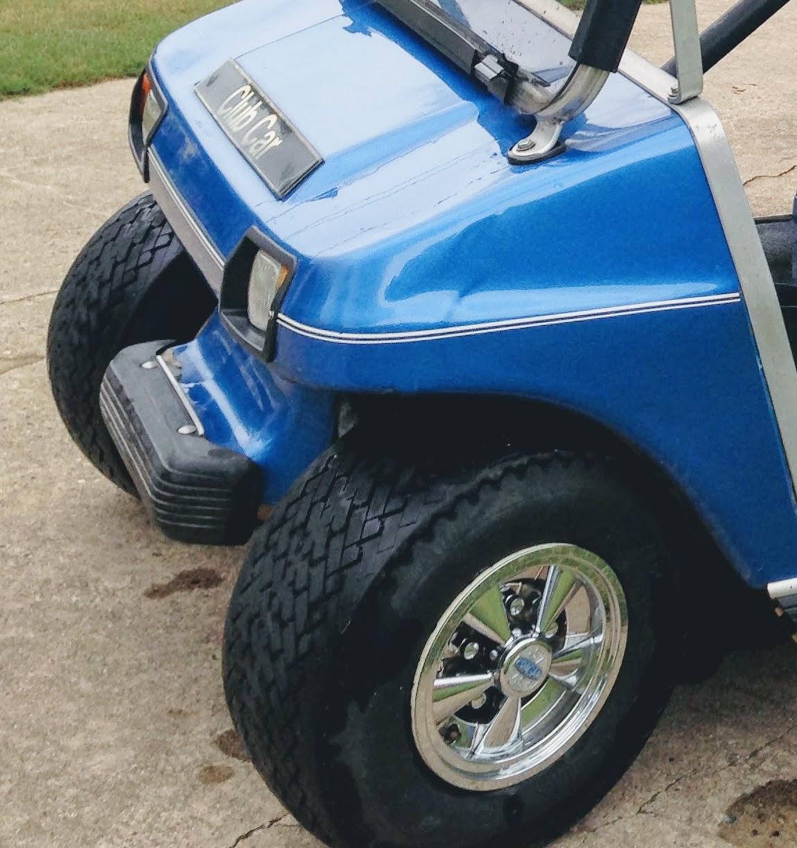 standard golf cart tires