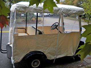 discount golf cart cover