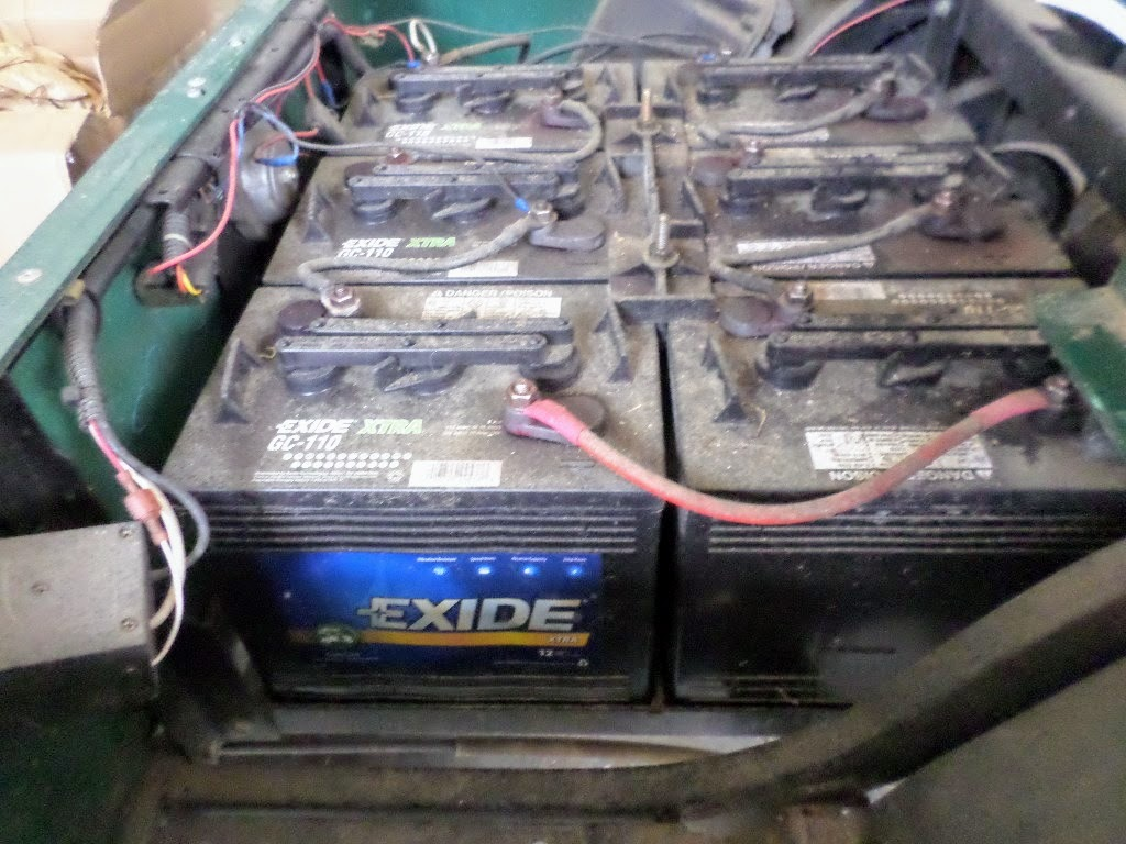 buying used golf cart batteries