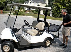 Yamaha golf cart one of the most trusted makes for golf for Narrow golf cart