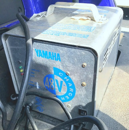 yamaha golf cart battery charger