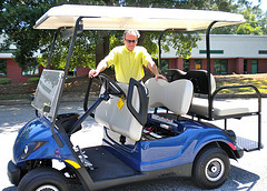 yamaha golf cart repair-  picture is from Laytonsville Golf Course
